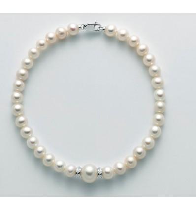 Miluna bracciale Perle ed Oro 18 Kt PBR2769