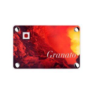 EILAT DIAMONDS: COLLANA GRANATO CASTONE GRIFFE