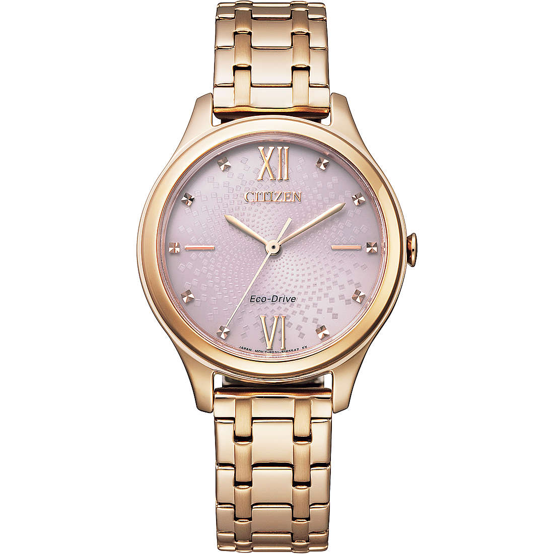 CITIZEN OF 2020 OROLOGIO SOLO TEMPO DONNA EM0503-75X
